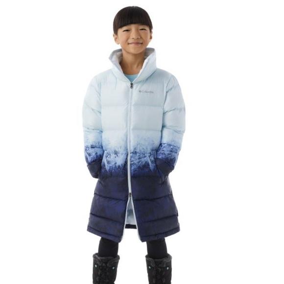 Columbia Disney Frozen Elsa Long Puffer Coat